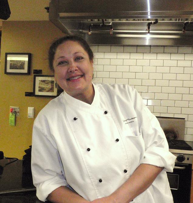 Chef Cindy Haenel