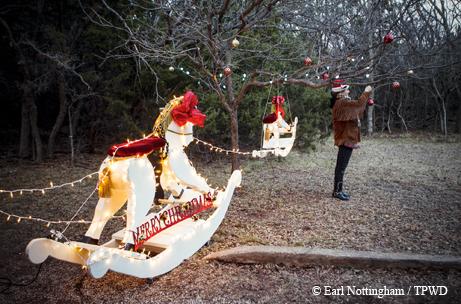 Abilene State Park Christmas.