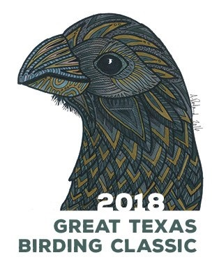2018 Great Texas Birding Classic Poster.