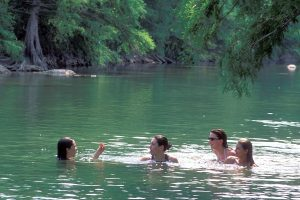 Swimming at State Parks.