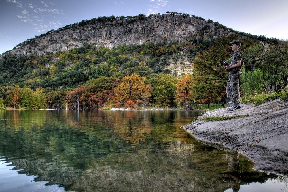 Garner state park fishing