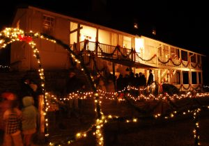 Kriesche Brewery State Historic Site during the Trail of Lights.