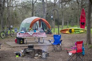 State Park Campsite