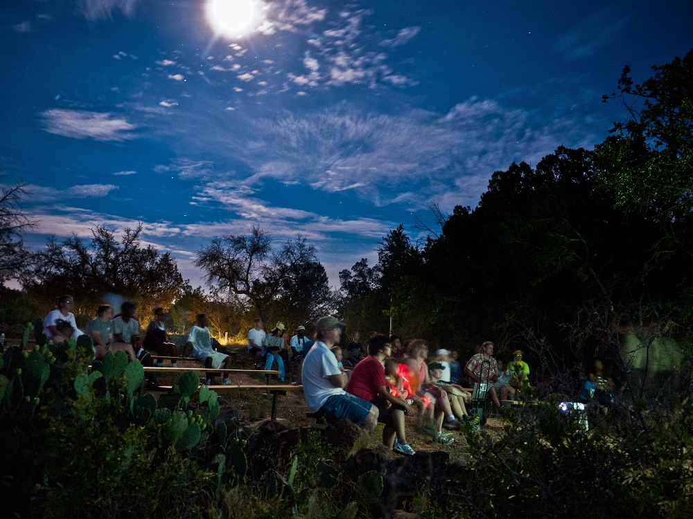 Preparing for a star party, image Chris Oswalt, TPWD